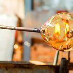 Try glass blowing with friends